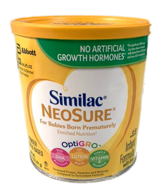 Abbott Similac Neosure fro babies born prematurely