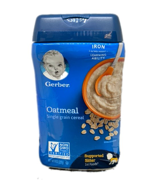 Gerber Oatmeal Single Grain Cereal