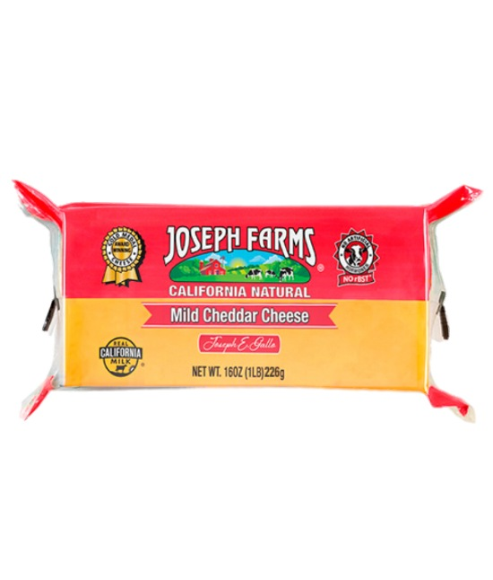 Joseph Farms Mid Cheddar Cheese