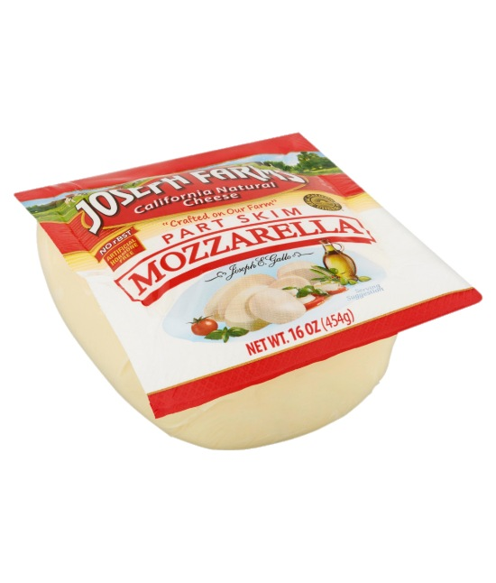 Joseph Part Skim Muzzarella Cheese