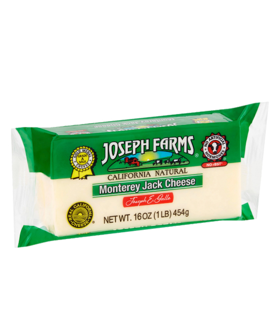 Joseph Farms Monterey Jack Cheese