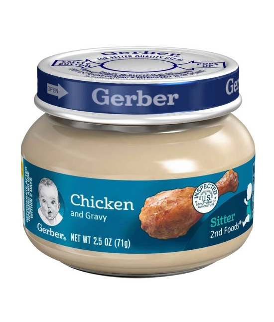Gerber chicken and gravy