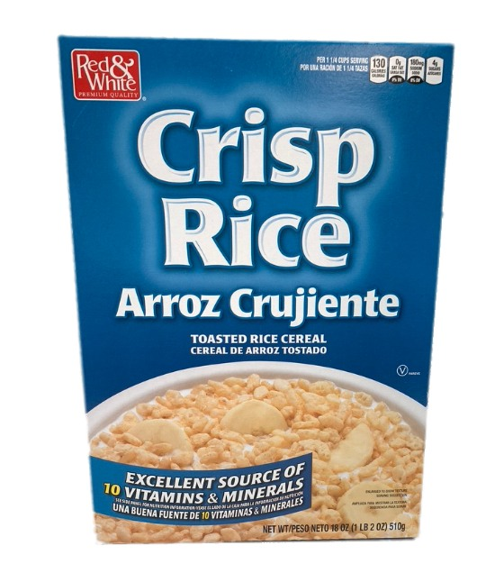 Red & White Crisp Rice