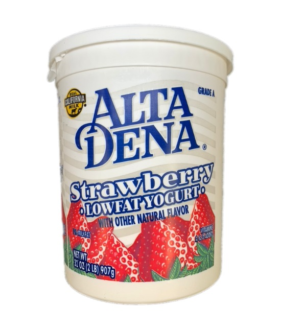 Altadena Strawberry Lowfat Yogurt