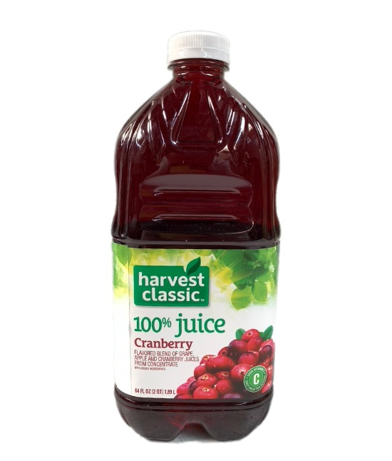 Harvest classic Cranberry Juice