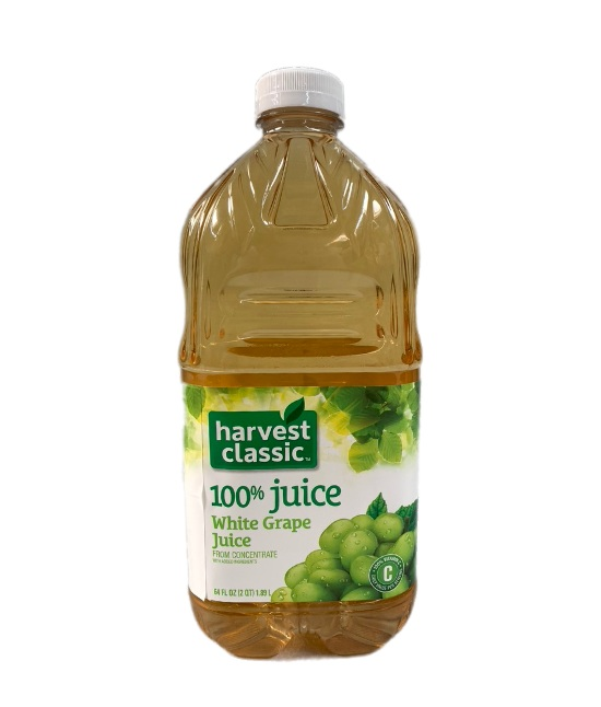 Harvest classic White Grape Juice