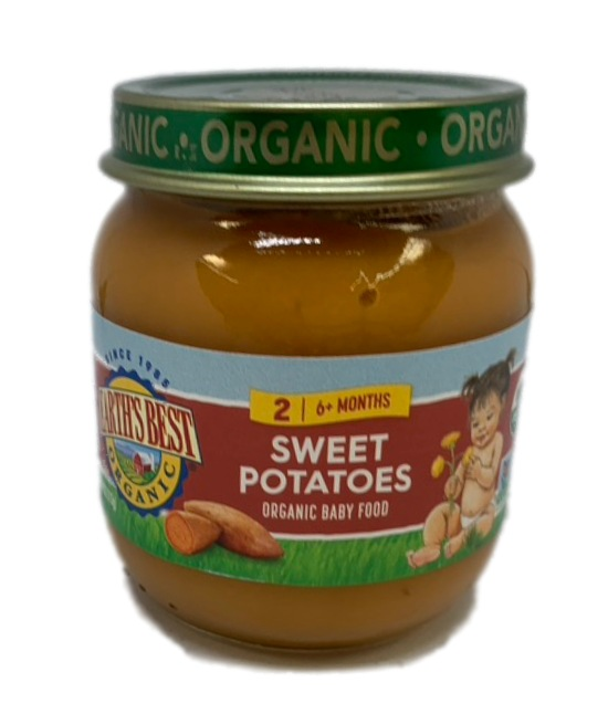 Earths Best Organic Sweet Potatoes Organic Baby Food