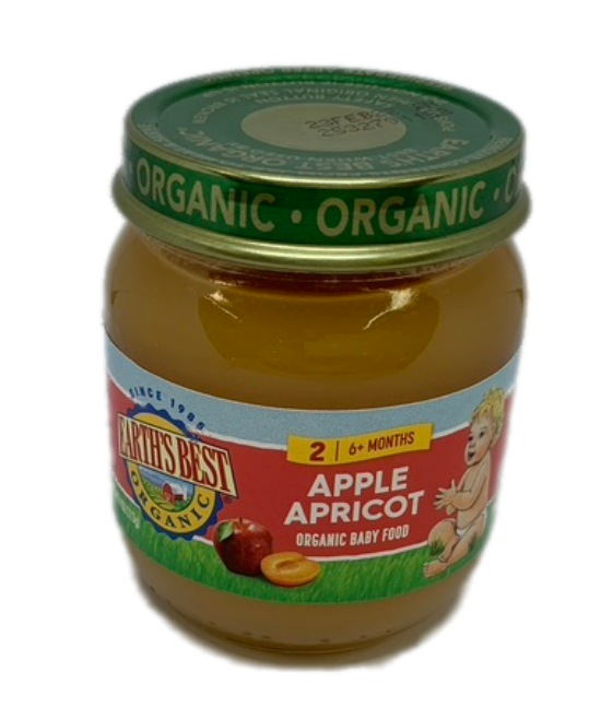 Earths Best Organic Apple apricot Organic Baby Food