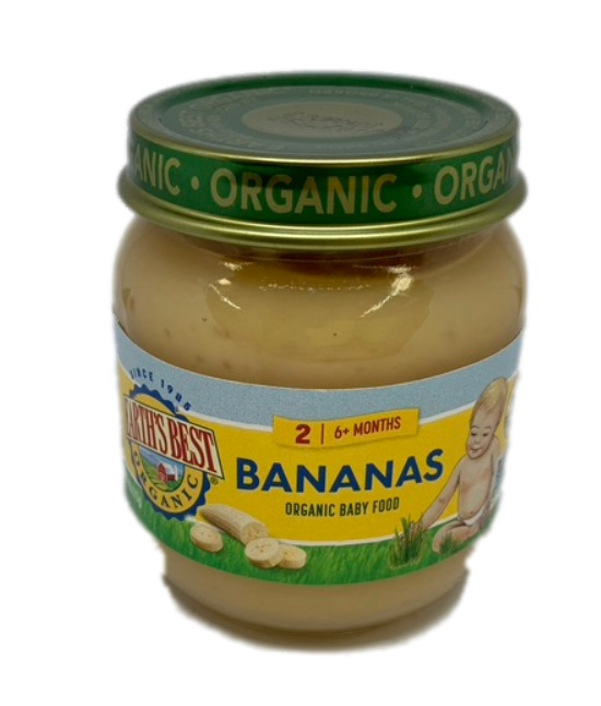 Earths Best Organic Bananas Organic Baby Food