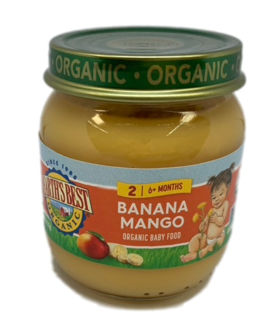 Earths Best Organic Banana Mango Organic Baby Food