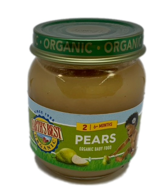 Earths Best Organic Pears Organic Baby Food