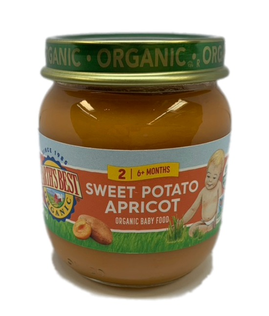 Earths Best Organic Sweet Potato Apricot Organic Baby Food