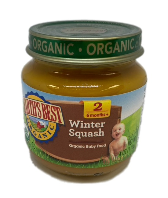Earths Best Organic Winter Squash Organic Baby Food