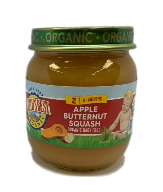 Earths Best Organic Apple Butternut squash Organic Baby Food
