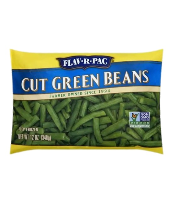 Frozen Cut Green Beans bag