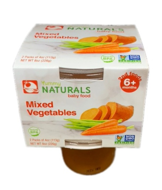 Yummy Naturals Mixed vegetables