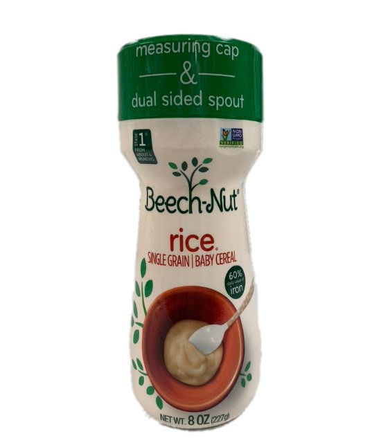Beech-Nut Rice Single grain Baby Cereal