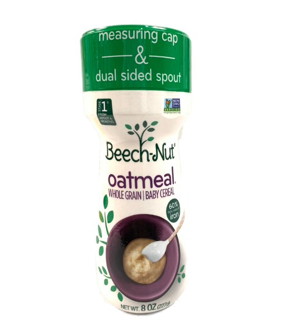 Beech-Nut Oatmeal whole grain Baby Cereal