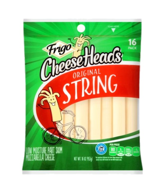 Frigo Cheese Heads original strings