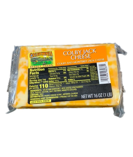 California Select Farms Colby Jack Cheese