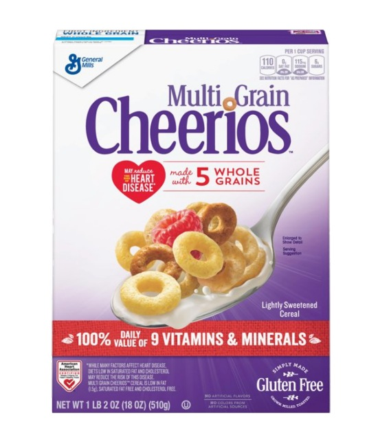 Multi Grain Cheerios
