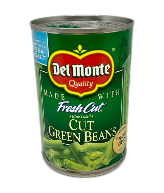 Del Monte Fresh cut green beans can