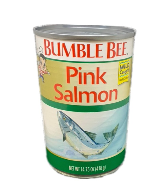 Bumble Bee Pink Salmon can