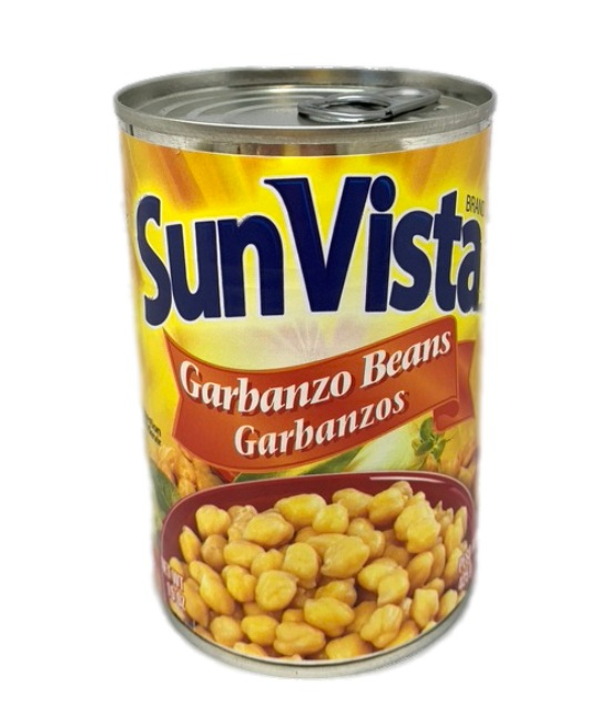 Sun Vista Garbanzo Beans Garbanzo can