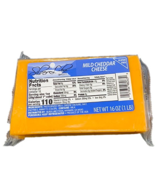 Silver Lake Mild Cheddar Cheese