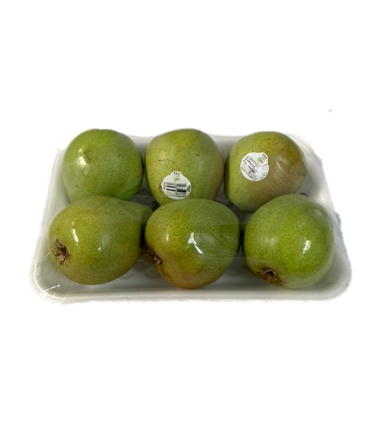 Pears in a tray