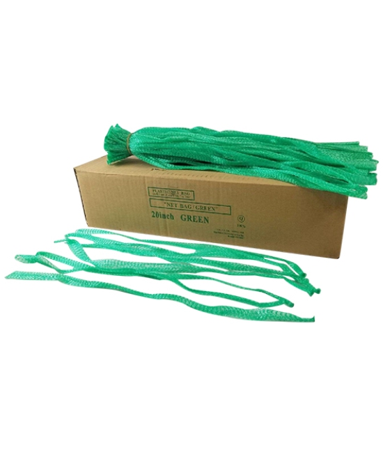 Box of Green net bags