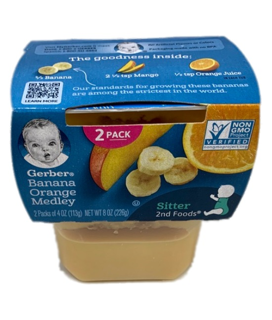 Gerber Banana Orange Medley Baby food