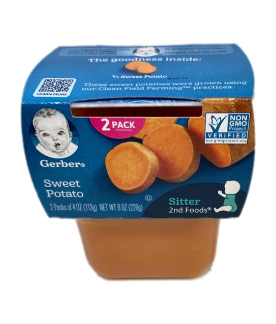 Gerber Sweet Potato Baby food