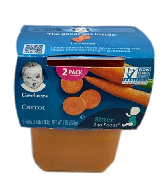 Gerber Carrot Baby food