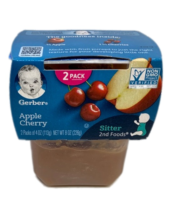 Gerber Apple Cherry Baby food