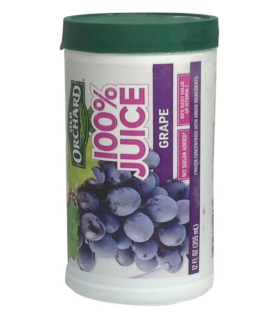 Old Orchard Frozen Juice Grape