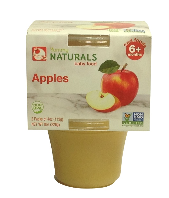 Yummy Naturals Apples