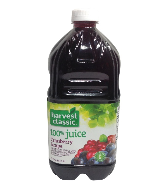 Harvest Classic Cranberry, Grape 8/64oz