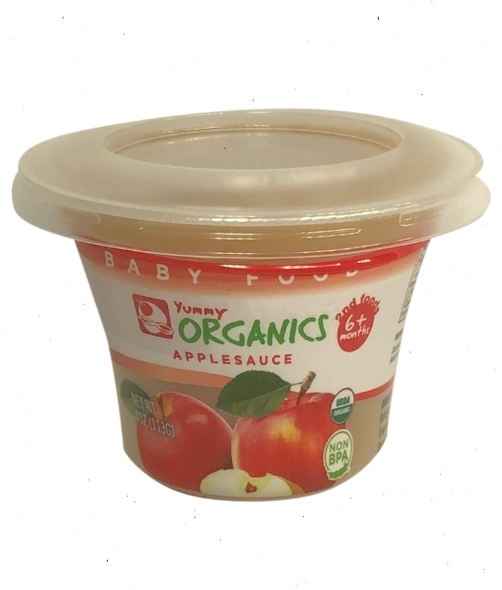 Yummy Organic Apple Sauce