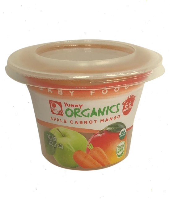 Yummy Organic Apple/Carrots/Mango