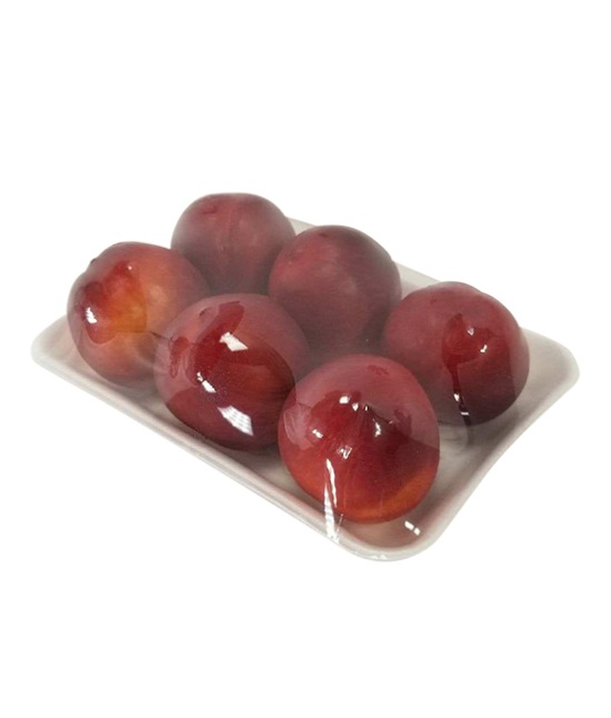 Nectarines in a tray
