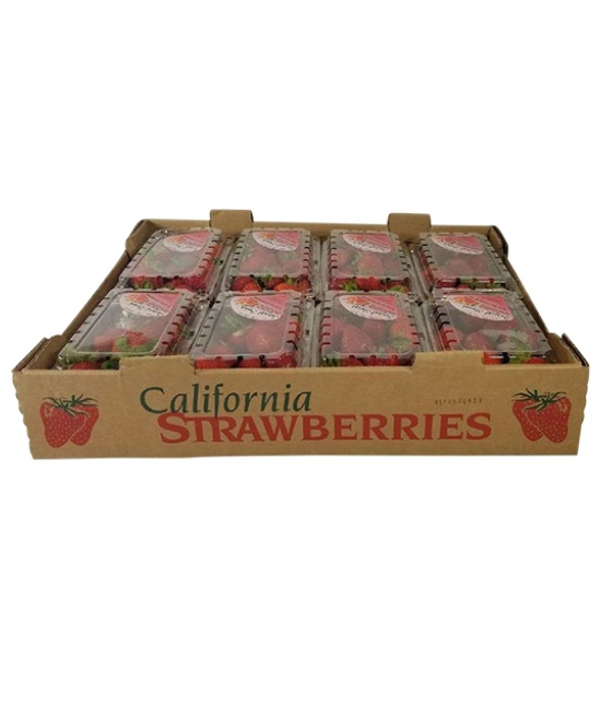 Strawberries 8 Units in a box
